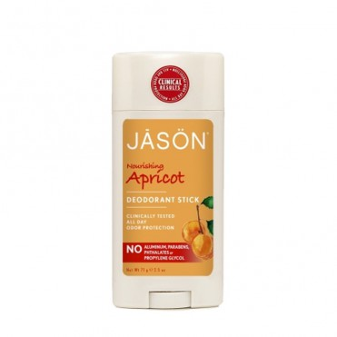 Deodorant natural stick cu caise, 71 gr - Jason