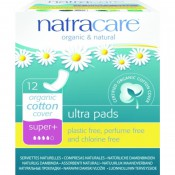 Absorbante super plus 12 buc - Natracare