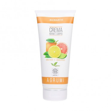 Crema corp si maini cu citrice, 200ml - Bioearth