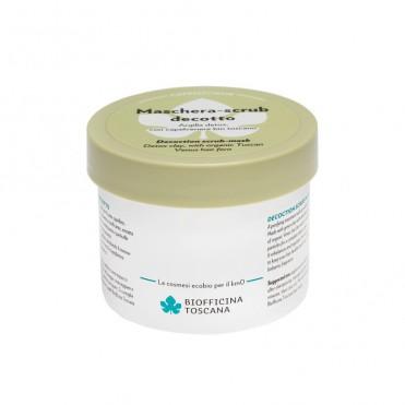 Masca par exfolianta si detox cu argila verde , 200ml - Biofficina