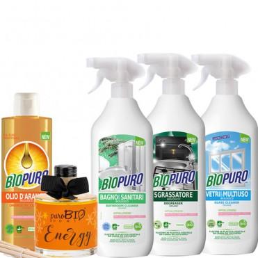 Pachet detergenti ecologici casa - Biopuro