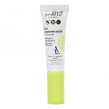 Gel de ochi hidratant, anti-oboseala, 10ml - PuroBio Cosmetics