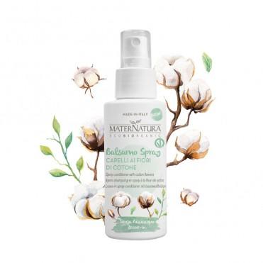 Balsam spray cu flori de bumbac, 150ml - Maternatura