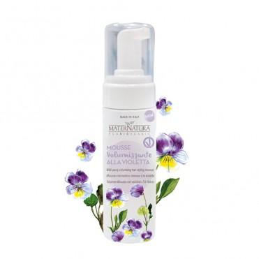 Spuma de par pentru volum cu violete, 150ml - Maternatura